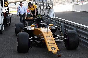 Формула 1 Новость Палмер разбил машину в квалификации, потому что «сильно старался»