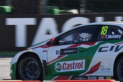 Monza, Libere 1: Monteiro primo con brivido