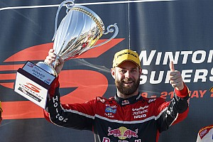 Supercars Race report Winton Supercars: Van Gisbergen profits from Whincup mistake
