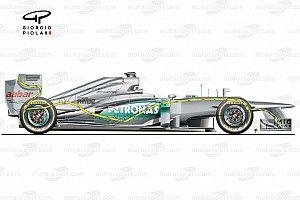 Soluzioni vietate come il DAS: F-duct anteriore Mercedes