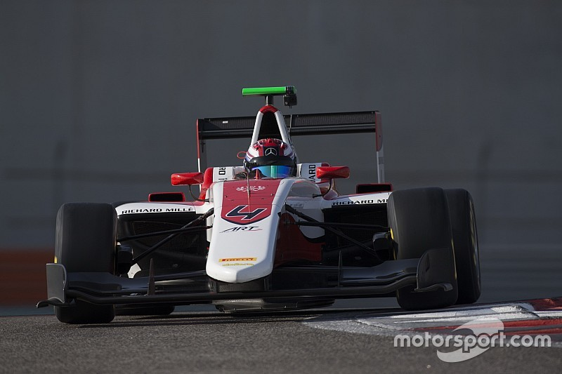 Russell dominates final day of GP3 post-season testing