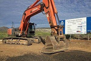 A Tenerife sono già cominciati i lavori di sbancamento