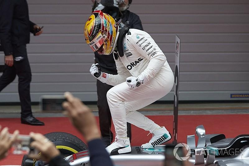 Autosport Awards - Lewis Hamilton pilote international de l'année