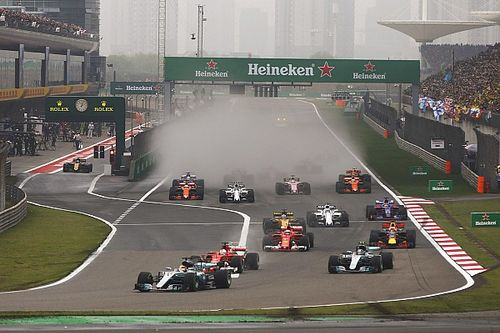 "F1""真的接近""与CCTV5签约"
