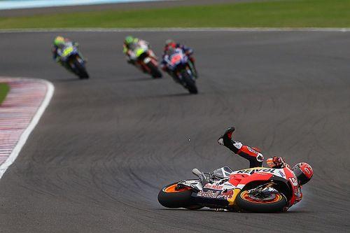 """Marquez: """"Crash in Argentinië bewijst dat Honda er nog niet is"""""""