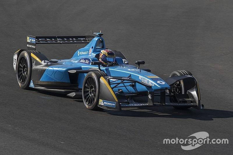 Formel E in Mexiko: Buemi auch im 2. Training vorn, Crash von Lopez