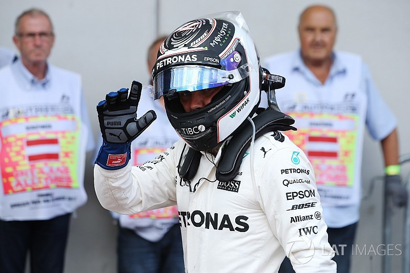 """Valtteri Bottas est le """"Pilote du Jour"""" du Grand Prix d'Autriche 2017"""