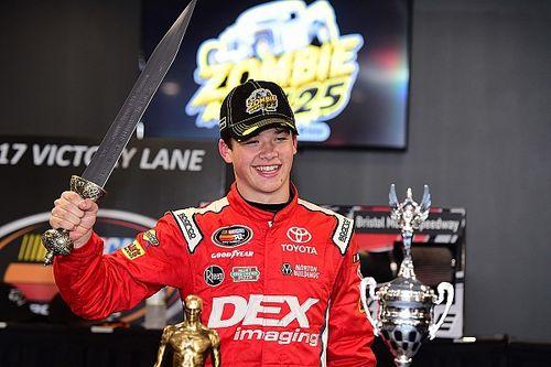 Burton scores first NASCAR K&N Pro Series East win