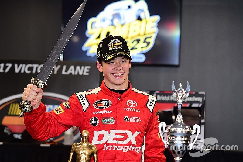 Burton scores first NASCAR K&N Pro Series East win