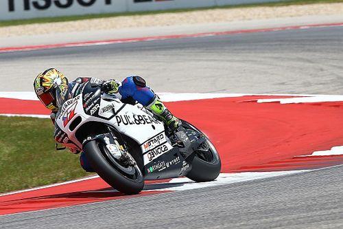 Абрагам повредил лодыжку в аварии с напарником на тренировке MotoGP