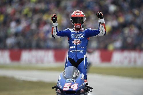 A Brno prima pole position della carriera in Moto2 di Mattia Pasini!