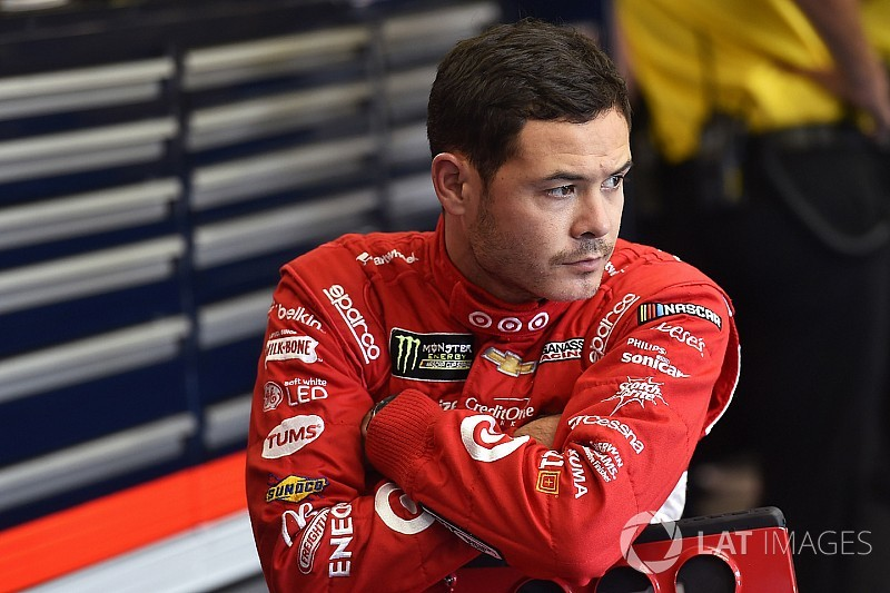Kyle Larson tops opening practice session at Kansas