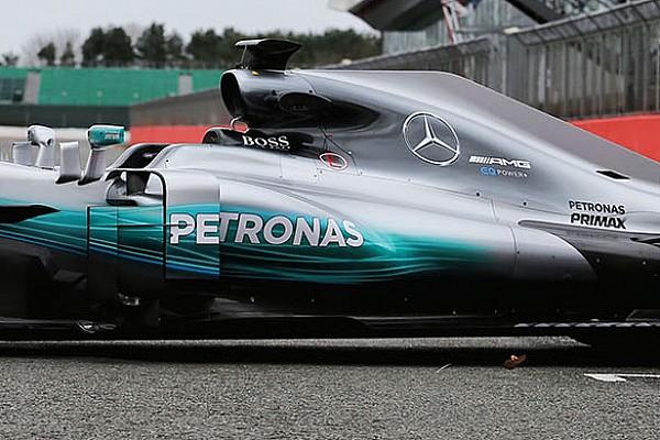 Formule 1 Nieuws Wereldkampioen Mercedes stelt auto voor 2017 voor op Silverstone