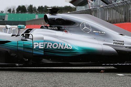 Mercedes resmi luncurkan mobil penantang F1 2017