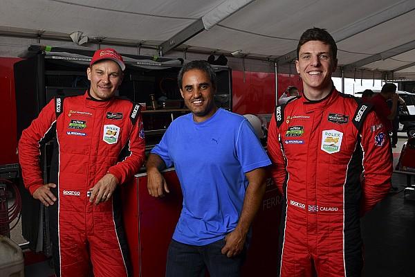 IMSA Breaking news Montoya interested in racing Ferrari GT