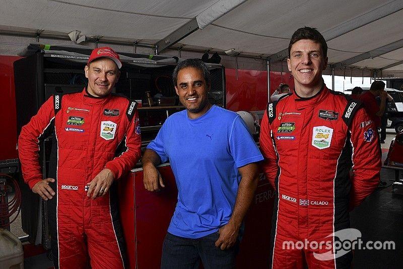 Montoya interested in racing Ferrari GT