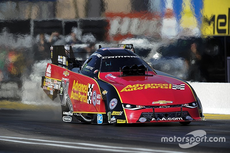 C. Force, Millican and Coughlin Jr. earn no. 1 qualifying positions Saturday at NHRA SpringNationals