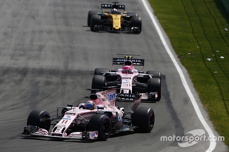 فورس إنديا تدرس اعتماد قوانين جديدة للمنافسة بين سائقيها بعد أحداث سباق كندا