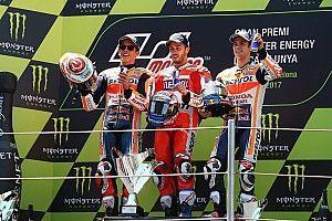 Dovizioso pakt in Catalonië tweede Grand Prix-zege op rij