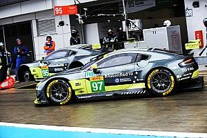 Aston Martin y sus test en España con el nuevo Vantage GTE para el WEC