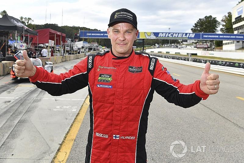Le Mans winner Vilander to drive PWC Ferrari