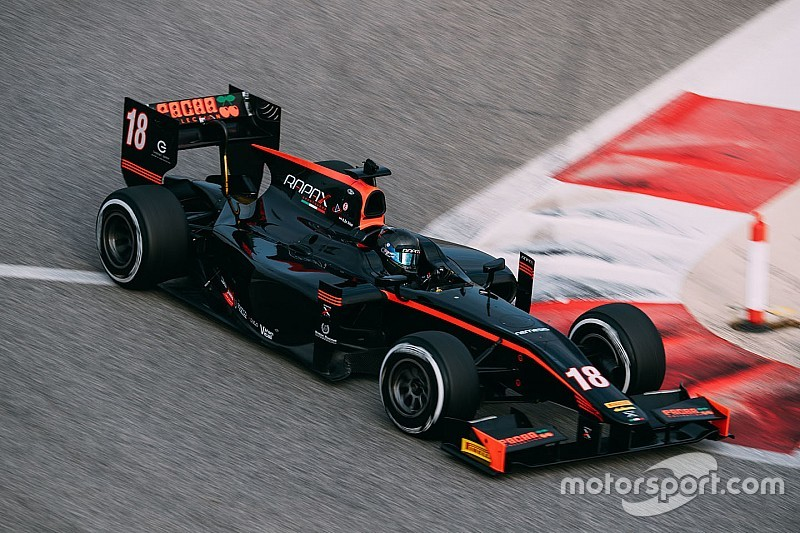 McLaren junior de Vries ends F2 testing on top