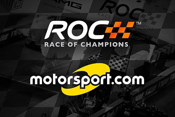 Motorsport.com wird offizieller Partner des Race of Champions