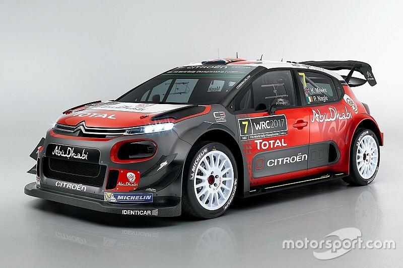 【WRC】シトロエン、2017年参戦WRCカーのC3 WRCを発表