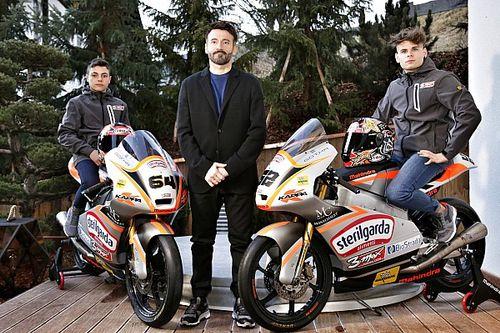 Max Racing Team: ecco la squadra di Biaggi per la Moto3 del CIV