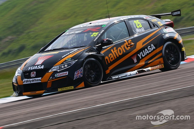 Oulton Park BTCC: Neal secures back-to-back poles