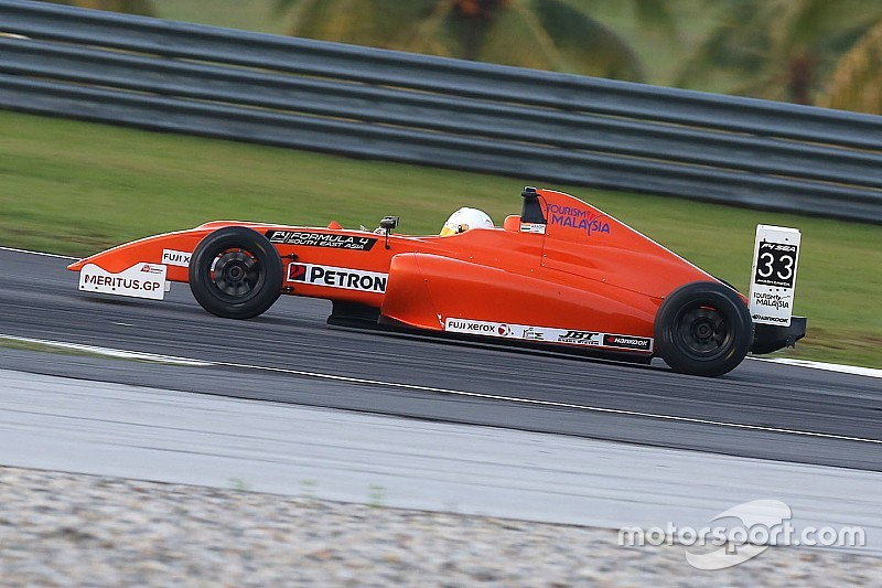 Sepang F4: Gowda rounds off season with Race 6 victory