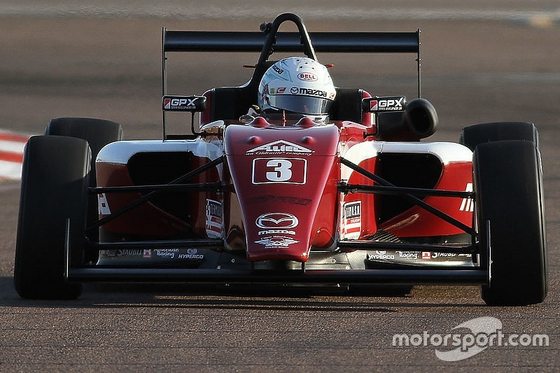 Indy GP USF2000: Askew leads Cape 1-2 to take pole