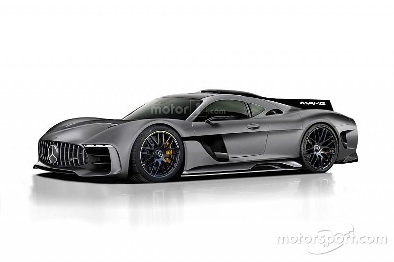 Voici notre nouveau rendu de la Mercedes-AMG Project One