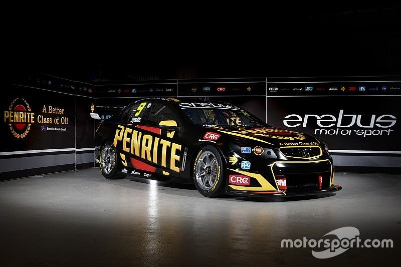 Youlden, Pither join Erebus for Supercars enduros