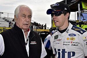 Roger Penske gives 'solid B' on debut of NASCAR's aero package