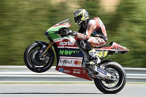 Aleix Espargaro regala ad Aprilia l'ottavo posto a Brno