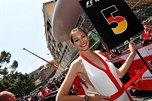 Vettel blij met grid girls in Monaco: