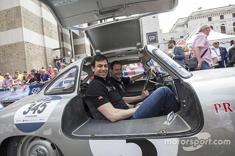 """Wolff rapito dalla 1000 Miglia: """"In Italia lo sport dell'automobile è vita!"""""""