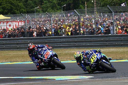 "Valentino Rossi: Vinales hat bei MotoGP in Le Mans ""etwas geschummelt"""