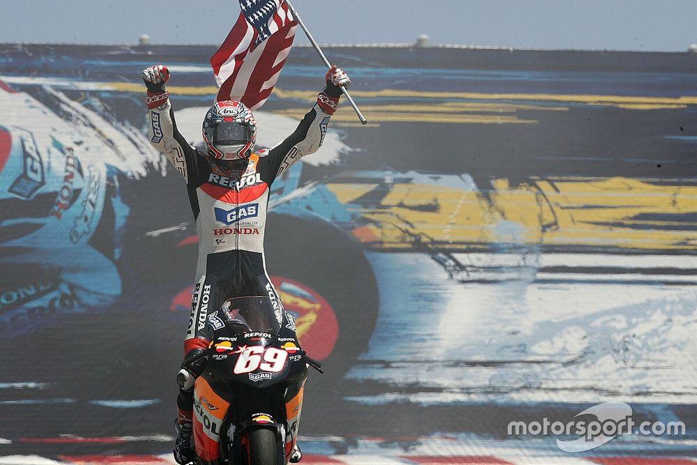 Sucedió un 10 de julio: Hayden gana por primera vez en MotoGP