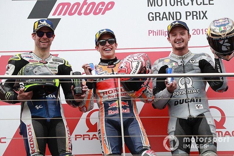 MotoGP: Viñales cai na última volta, e Márquez vence na Austrália