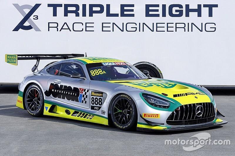 Triple Eight svela gli equipaggi delle sue Mercedes per Bathurst
