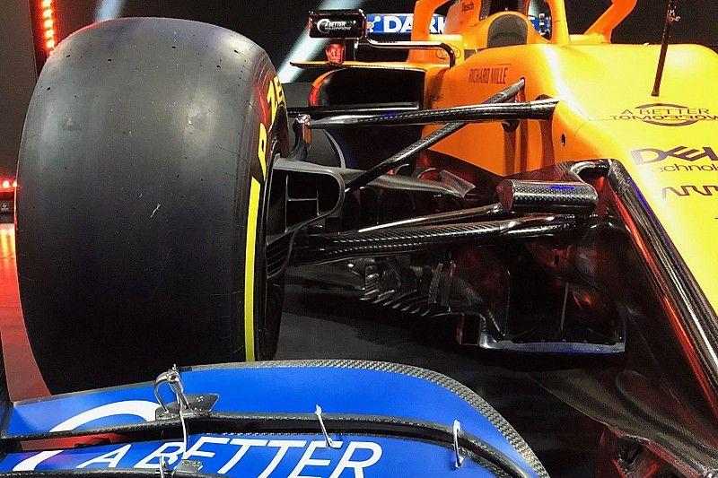 Technik-Analyse McLaren MCL35: So viele Neuerungen!