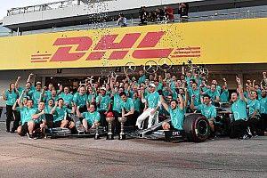 Fotogallery F1: Mercedes sei volte iridata nel GP del Giappone