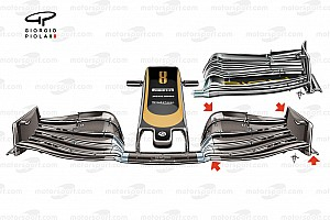 Haas: riproposta l'ala copia di quella Ferrari di Baku
