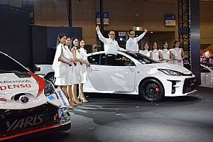 """WRCで勝つための""""武器""""。トヨタ、GRヤリスを東京オートサロンで世界初公開"""