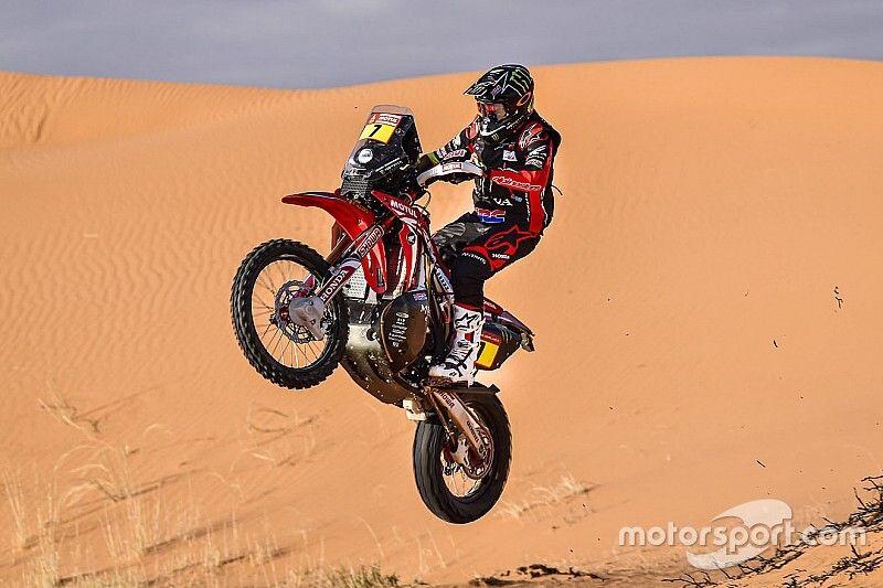 Dakar, Moto: tappa 7 a Benavides, aveva soccorso Goncalves