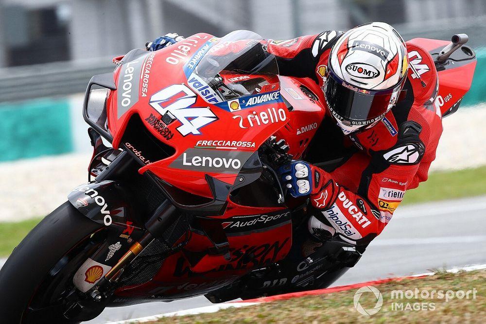 Ducati n'écarte pas un contrat d'un an pour Dovizioso