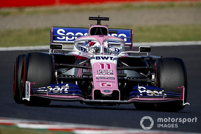 Racing Point's lack of progress hard to deal with, says Perez