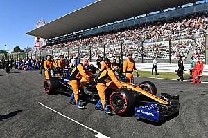 McLaren se opone al fin de semana de F1 al estilo del GP de Japón